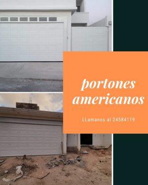 portones americanos
